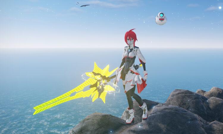 Pso2 New Genesis Hunter Partisan Spear