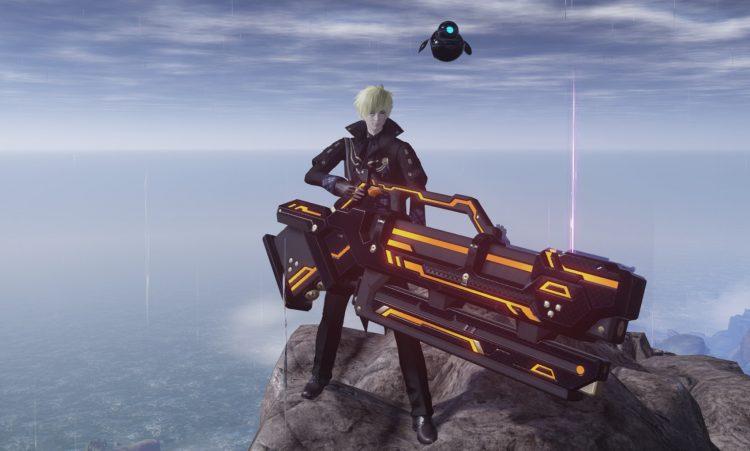 Пусковая установка Pso2 New Genesis Ranger