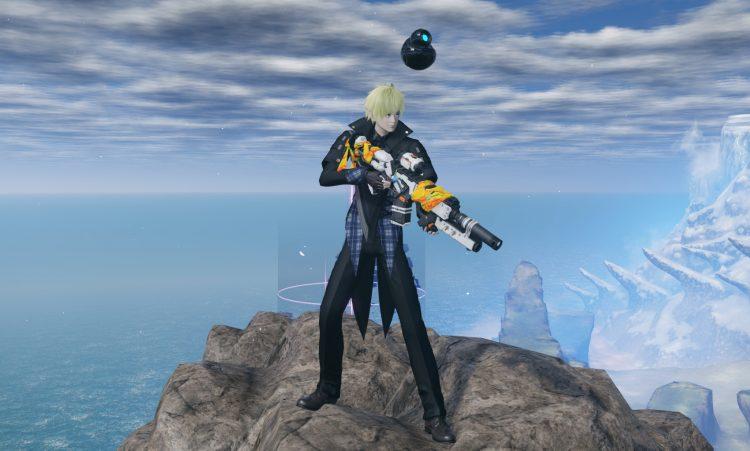 Винтовка Pso2 New Genesis Ranger