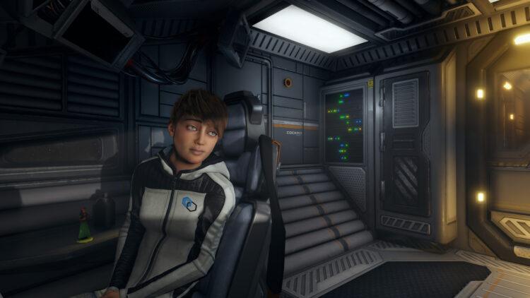 Space Ship Claire De Lune
