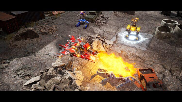gameplay robots battle