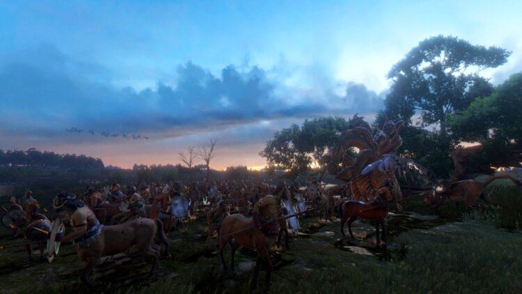 A Total War Saga Troy Mythos Лернейская гидра Гидра Лернейская гидра Экспедиционное задание Квест Боевой босс Дилеммы События 2c