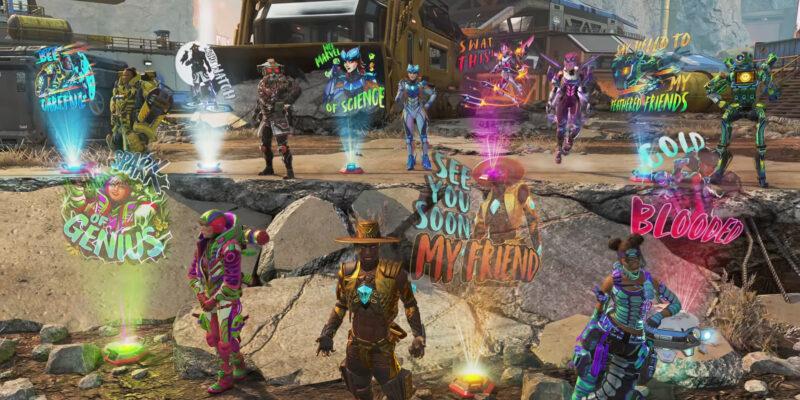 Apex Legends Season 10 Battle Pass Cosmetics
