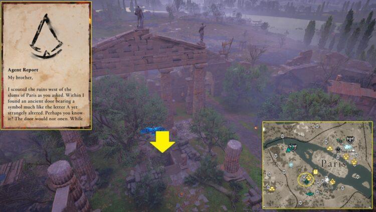 Assassin's Creed Valhalla Siege Of Paris Hidden Ones Bureau Locations Guide Joyeuse Hidden Ones Lutetia Bureau Keys 1