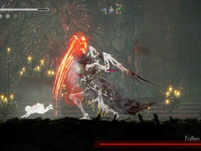 Ender Lilies boss rush new game plus Fallen Priestess