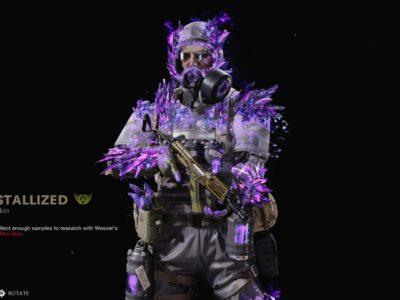Black Ops Cold War Weaver Skin Bug