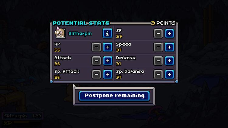 Coromon Potential System
