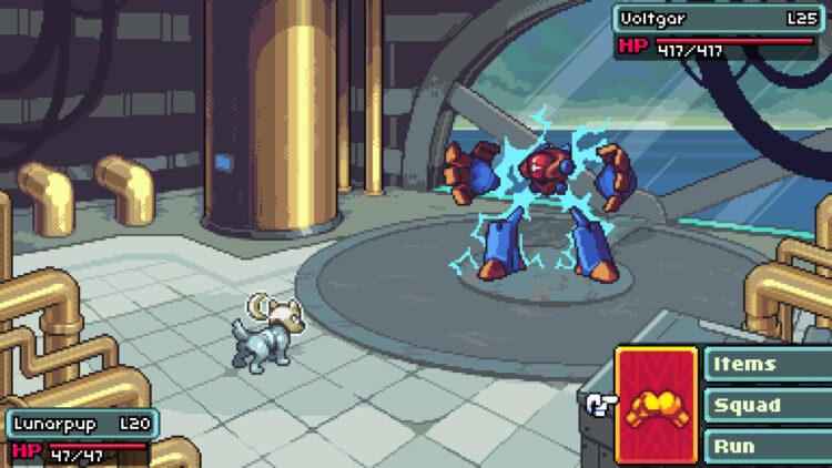 Coromon Titan Battle