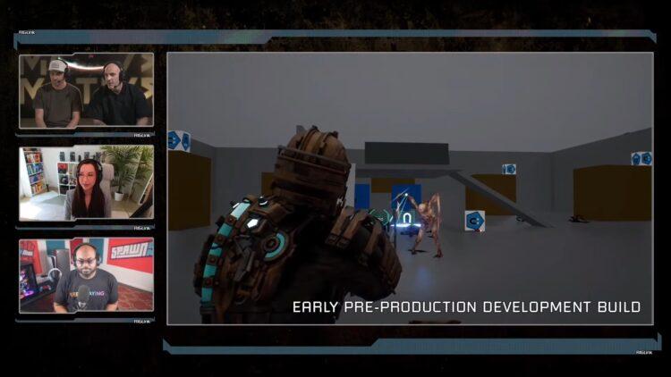 Dead Space Remake Developer Livestream First Look Ea Motive 2