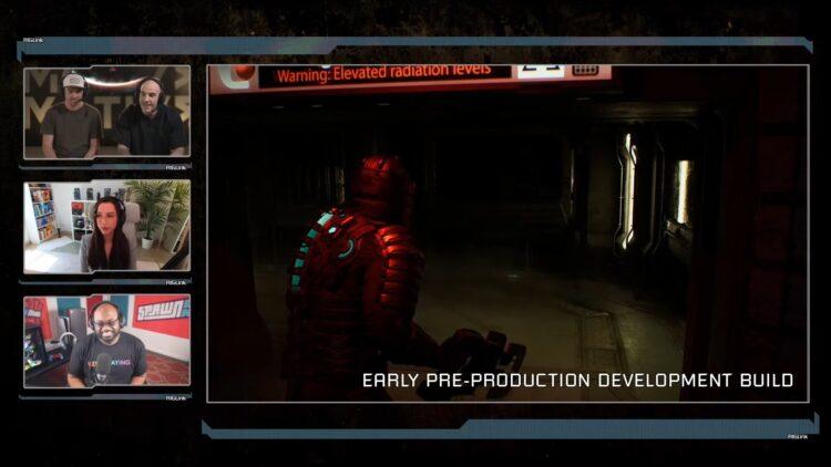 Dead Space Remake Developer Livestream First Look Ea Motive Isaac