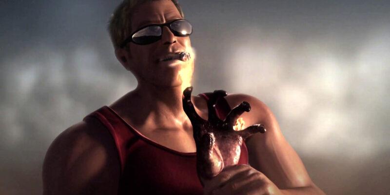 Duke Nukem Begins cinematic hand