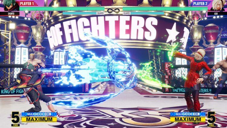 Сетевой код отката King of Fighters XV