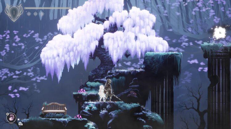 Ender Lilies boss rush new game plus tree