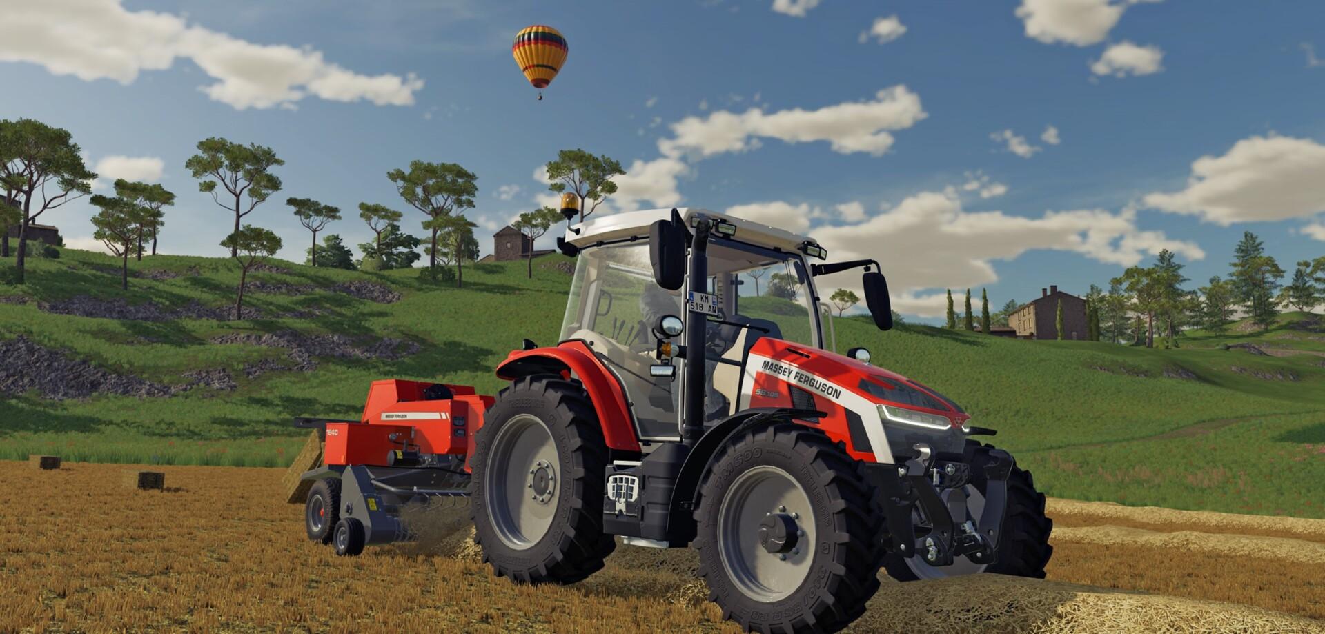 Farming Simulator 22 Трактор и воздушный шар