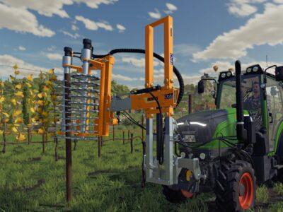 Farming Simulator 22 Vineyard Orchard Farming