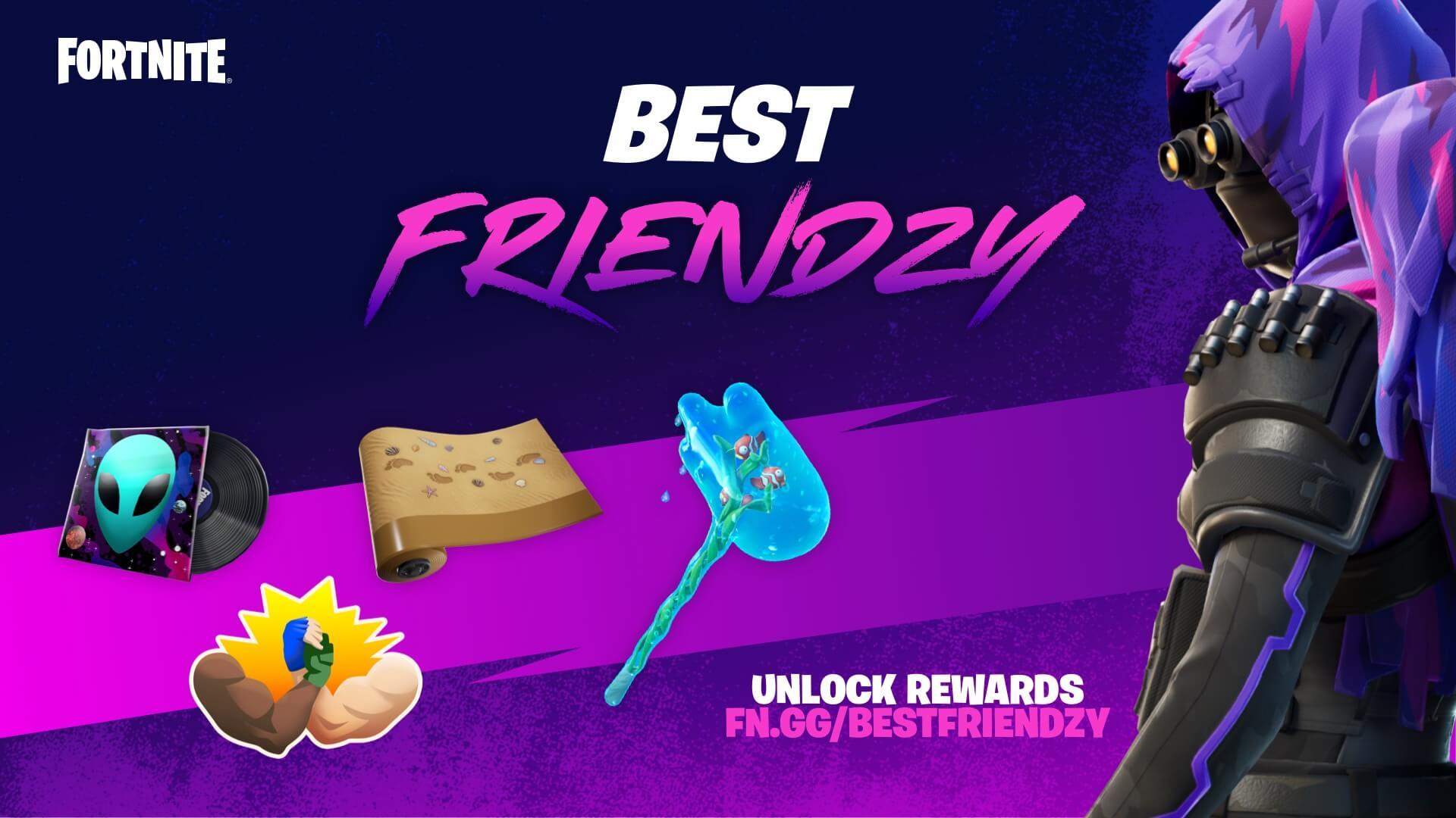 Награды Fortnite Best Friendzy