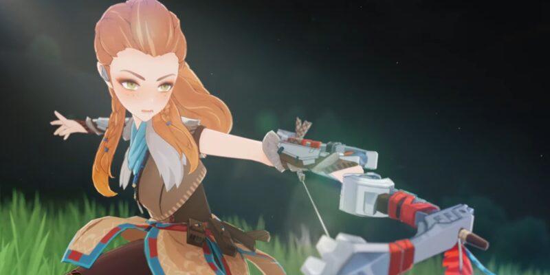 Genshin Impact Aloy Guide Aloy Best Weapon Best Artifact Best Artifact Sets Best Talents Build Predator Bow Blizzard Strayer