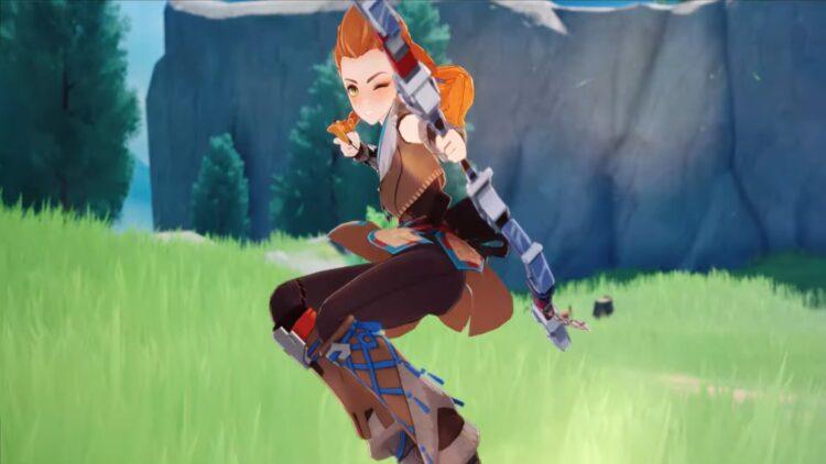Genshin Impact Aloy Guide Aloy Лучшее оружие Лучший артефакт Лучшие наборы артефактов Лучшие таланты Build Predator Bow Blizzard Strayer 1b