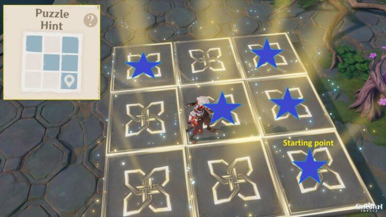 Genshin Impact Lost Riches 2.0 Inazuma Day 3 Special Treasure #2 Location Puzzle Map Clue 2