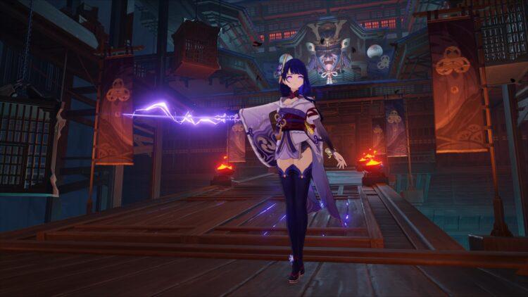 Genshin Impact Raiden Shogun Руководство по Баалу Raiden Shogun Лучшее оружие Лучший артефакт Лучшие наборы артефактов Лучшие таланты Build Emblem Of Severed Fate Engulfing Lightning 1a