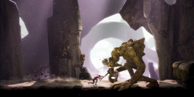 Grime Secrets Guide Hidden Bosses Missable Bosses Items Upgrades Grieving Rockgiant Harmless Rockgiant Misbegotten Amalgam