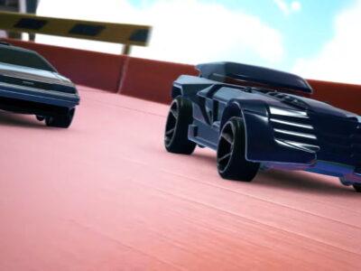 Hot Wheels Unleashed Delorean And Batmobile