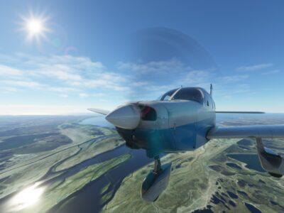 Microsoft Flight Simulator Just Flight Piper Warrior Ii Closeup 7