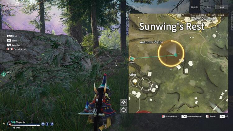 Morus Blessing sunwing's rest autumn plains weapons armor types rewards