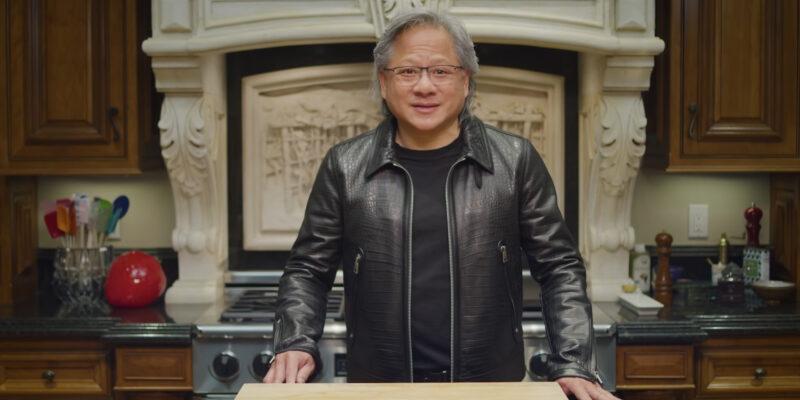 Nvidia Ceo Jensen Huang Graphics Supply Shortage