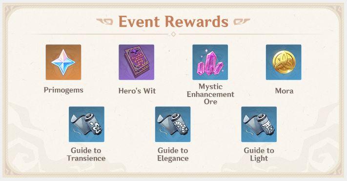 Phantom Flow Event Rewards
