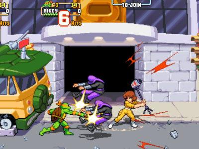 Shredders Revenge April O'neil