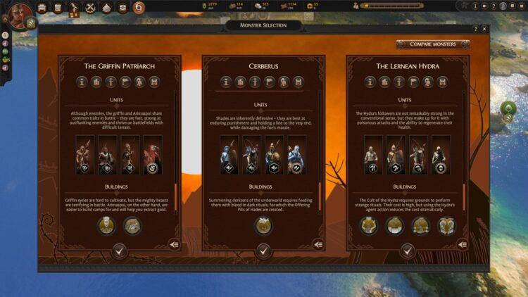 Total War Saga Troy Mythos Руководство по мифическим экспедициям Как нанимать монстров Как начать экспедиции 1b