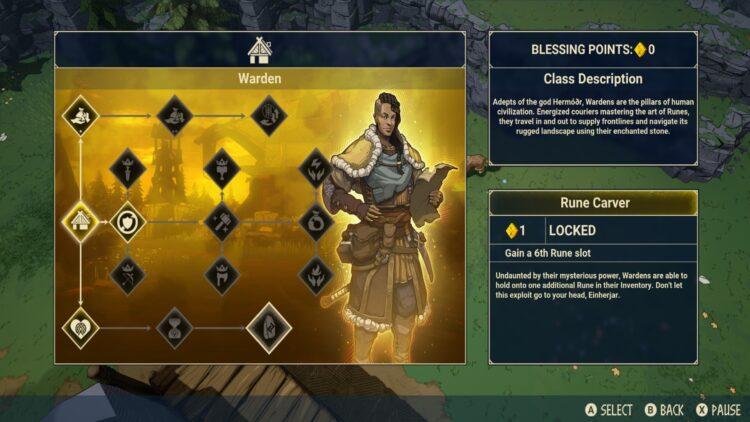 Tribes Of Midgard Class Guide Class Skills Unlock Berserker Unlock Sentinel Warden 4