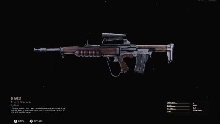 Лучшее вооружение Warzone Em2 call of duty 4 сезон 4