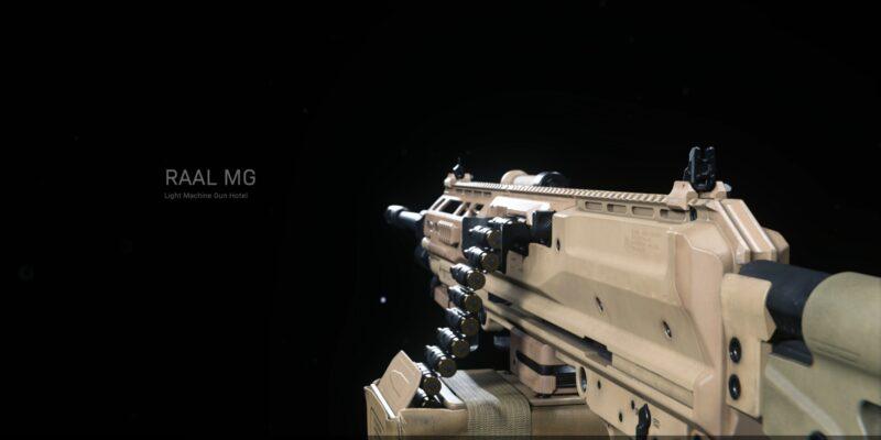 Warzone Unlock The Raal Mg