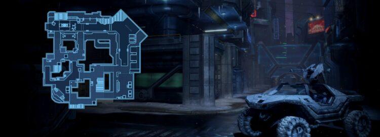 Halo 2 Map Turf Remake Halo 3 Multiplayer Icebox