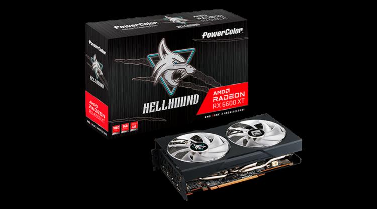Powercolor Hellhound 6600 Xt Amd Radeon In Stock Where To Buy