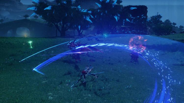 Pso2 New Genesis Braver Katana Gameplay