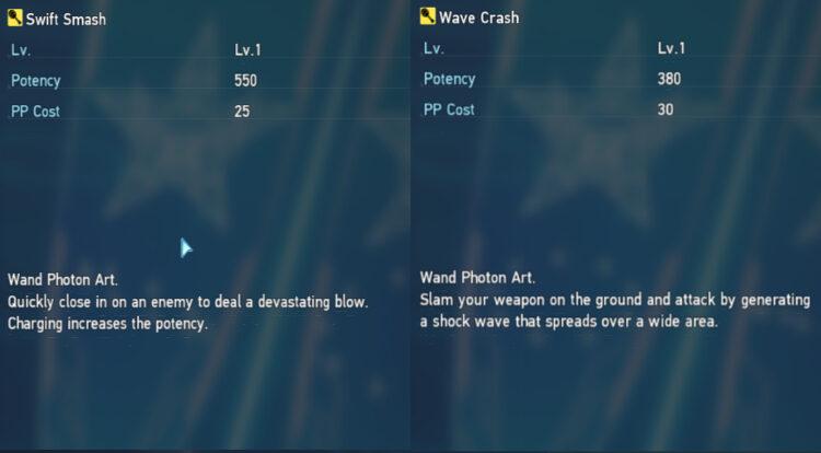 Pso2 New Genesis Techter Photon Arts
