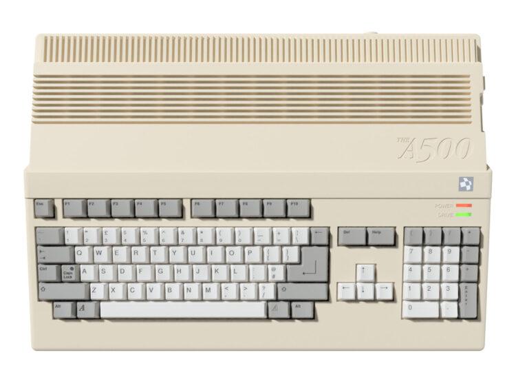 Retro Games Thea500 Mini Amiga 2022 Reveal Top