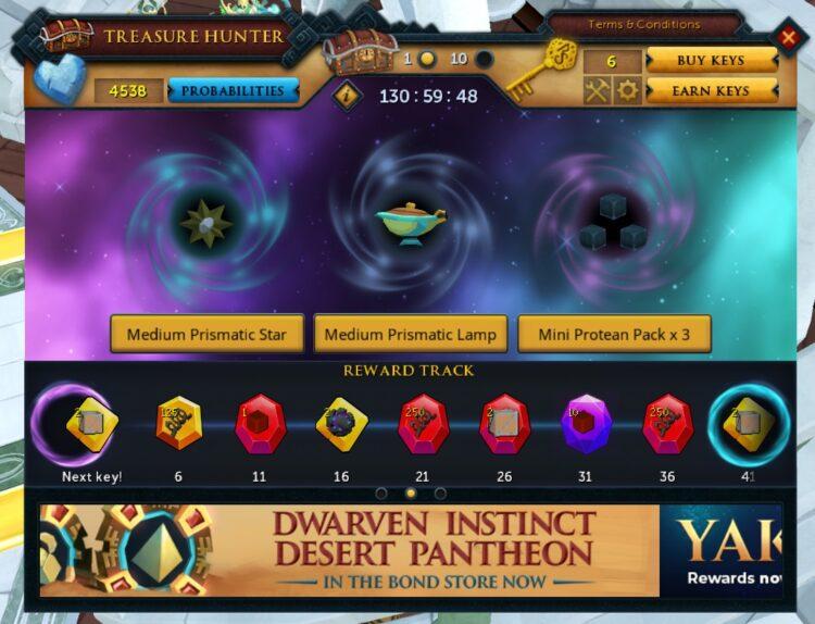 Runescape Gifts Of The Creator Treasure Hunter Rewards