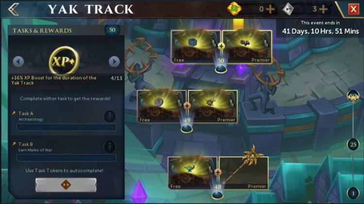 Runescape Path Of The Creators Yak Track Xp Boost Final Tier
