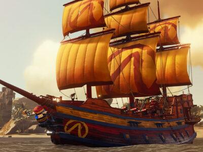 Sea Of Thieves Event Rewards Borderlands Mayhem Ship Set