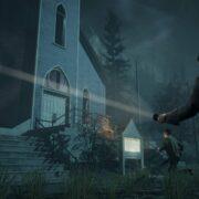 Alan Wake Remastered comparison trailer church