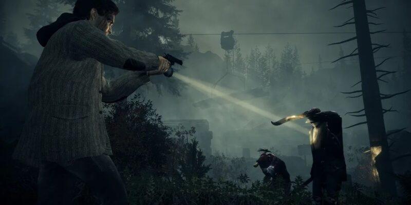 Alan Wake Remastered trailer gunpoint