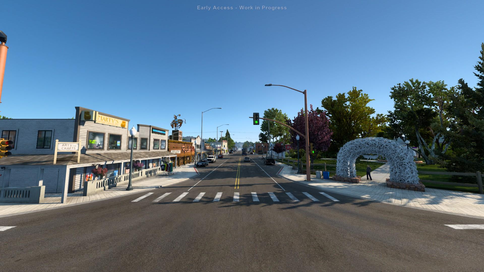 American Truck Simulator Wyoming Jackson City