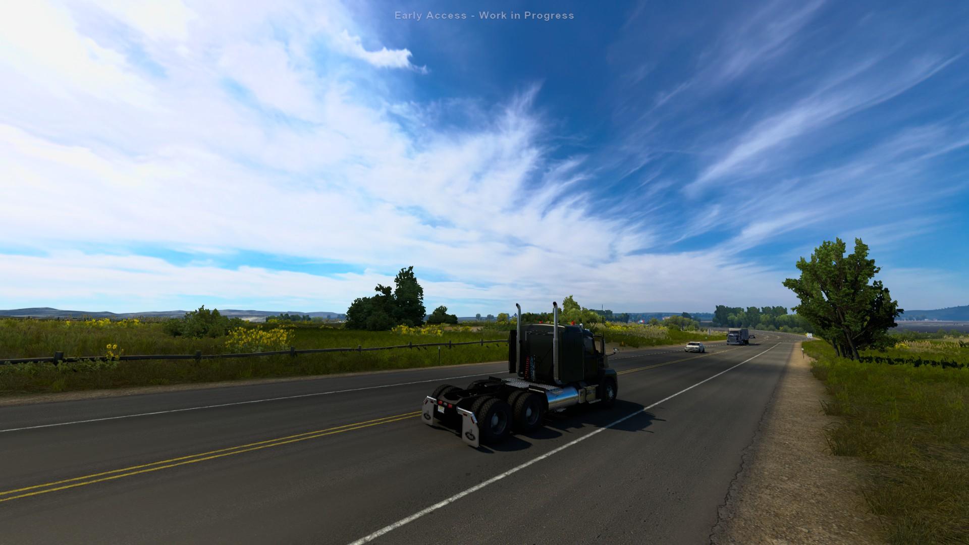 American Truck Simulator Wyoming Open Road