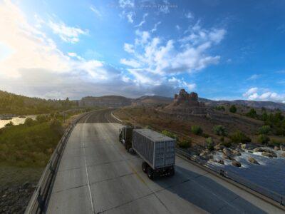 American Truck Simulator Wyoming Rockies 2