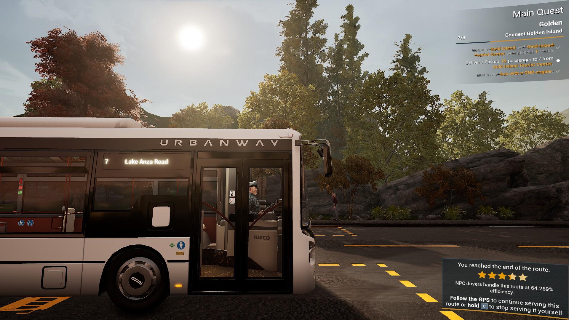 Bus Simulator 21 Bus Stop