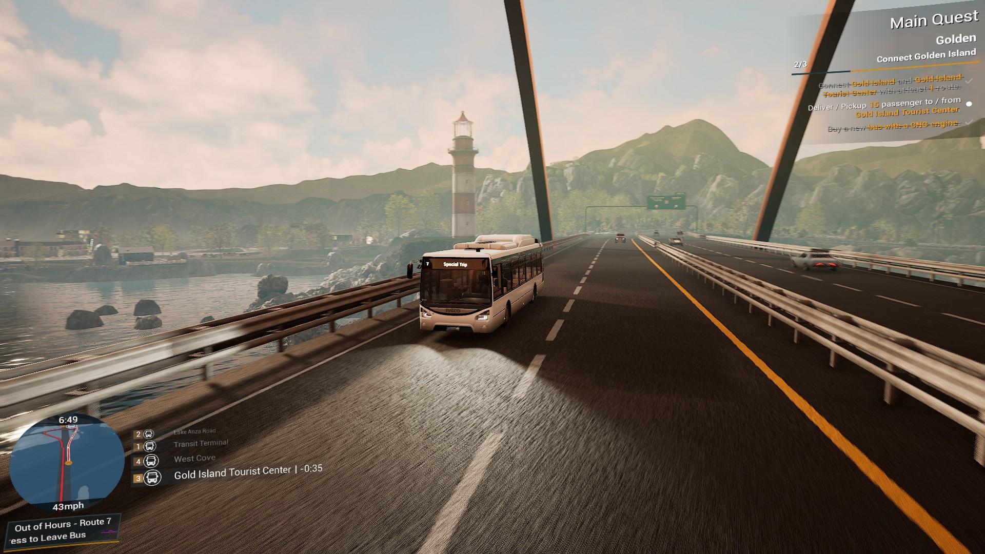 Bus Simulator 21 Beacon Rush